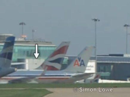 طائر صغير يقوم بتعطيل طائرة ركاب ويجربها على الهبوط الاضطراري Bbbbbbb