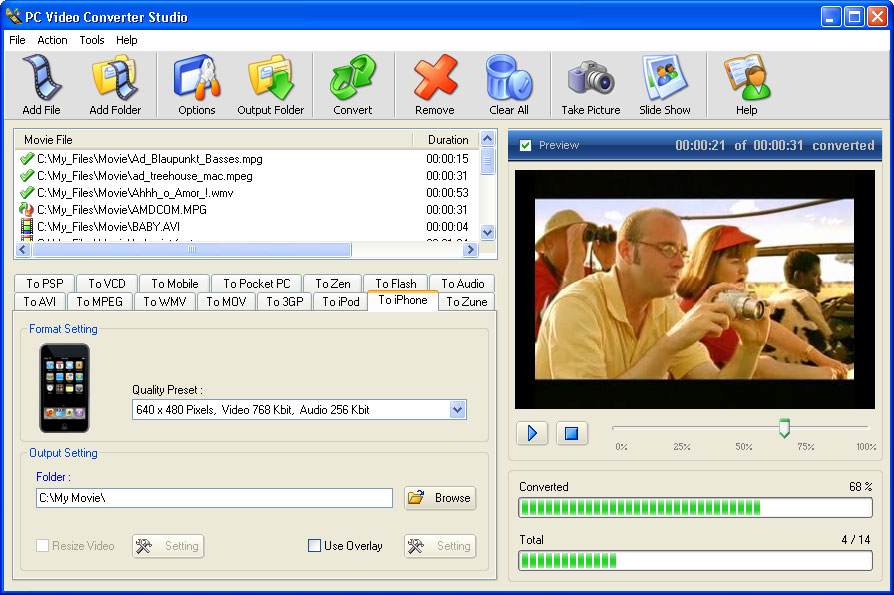 برنامج تحويل الصيغ الرائع PC Video Converter Studio Scr-pc-video-converter-studio