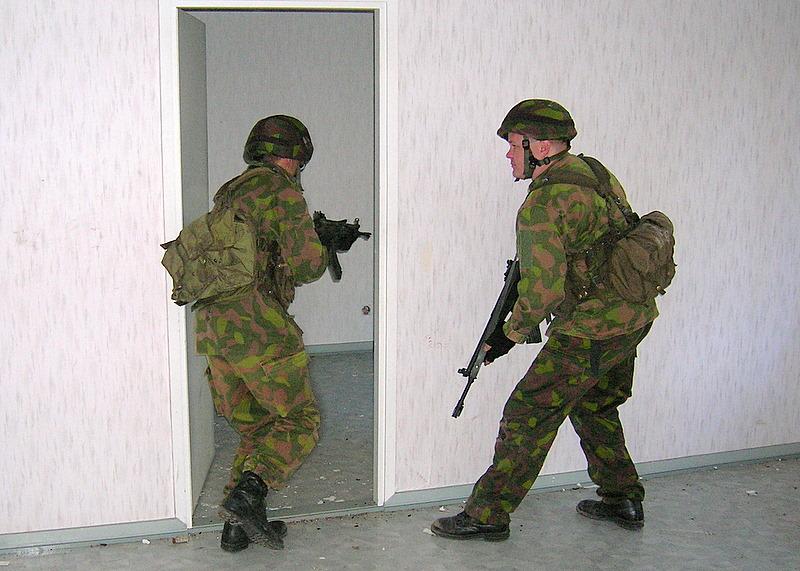 Armée Finlandaise / Finnish Defence Forces / puolustusvoimat Kiinteisto_5