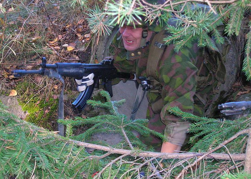 Armée Finlandaise / Finnish Defence Forces / puolustusvoimat Tunneli_2