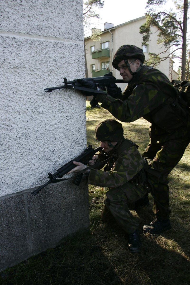 Armée Finlandaise / Finnish Defence Forces / puolustusvoimat _I8O5317_nurkanvaltaus
