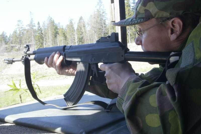 Armée Finlandaise / Finnish Defence Forces / puolustusvoimat Rk2_ammunta