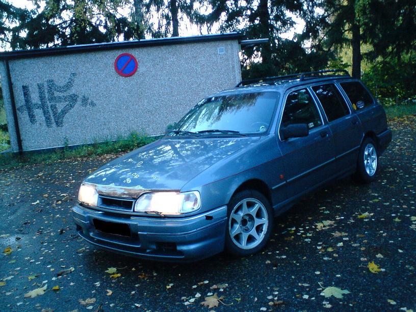 Grey - Sierra med V6:a som suger! SLUTKÖRT FÖR I ÅR! SierraRSsmall