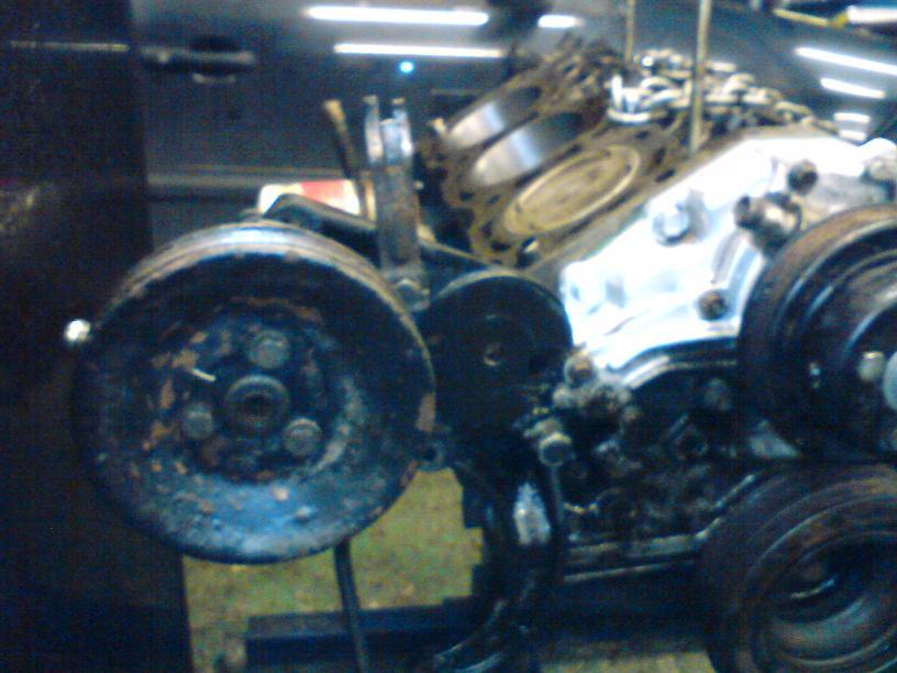 Grey - Sierra med V6:a som suger! SLUTKÖRT FÖR I ÅR! - Sida 2 Flatremsombyggnad