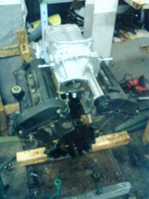"""Grey - """"Släggan"""" 4L V6 Cosworth kompressor. I Bilhimmelen! Slaggan"""