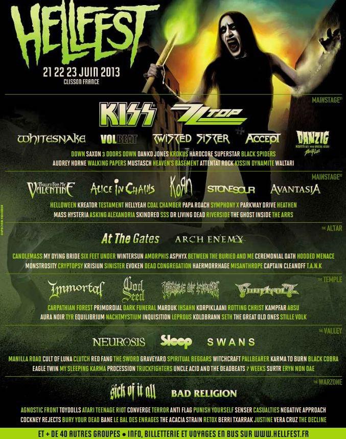 Hellfest 2013 - Page 2 Hellfest