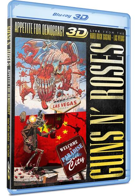 GUNS 'N' ROSES Gunsvegas2012dvd