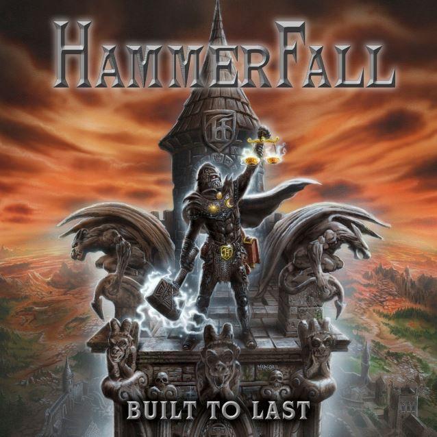 HammerFall Hammerfallbuilttolastcover