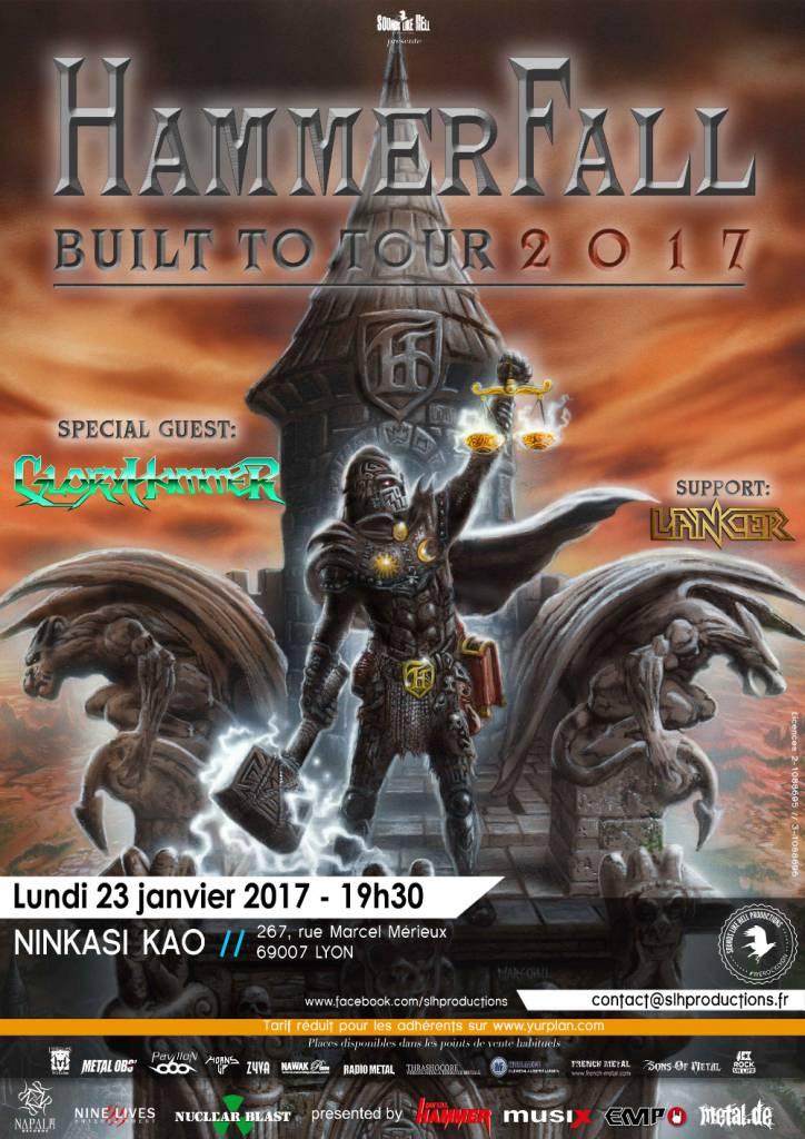 HammerFall HAMMERFALL-Lyon-20172-724x1024