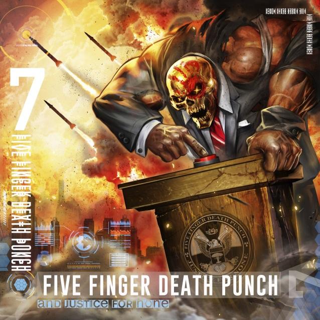 Five Finger Death Punch Ffdpjusticestandard