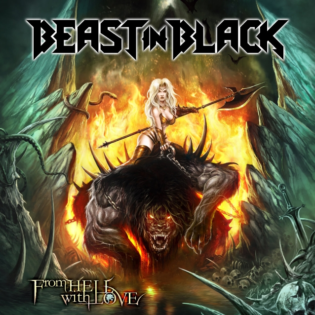 BEAST IN BLACK  Beastinblackfromhellwithlovecd