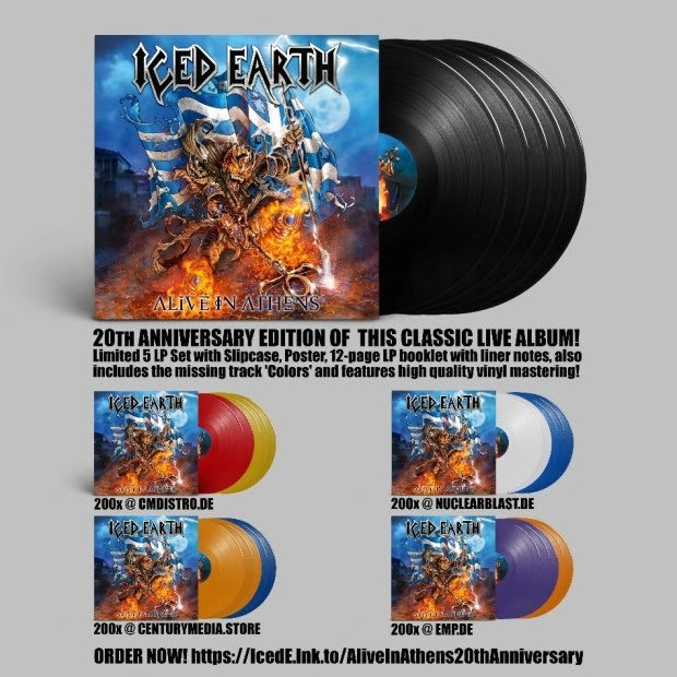 Iced Earth Iced-earth-20th-anniversary-edition-of-alive-in-athens-due-in-december