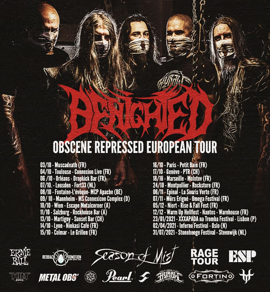 Benighted Benighted-tour