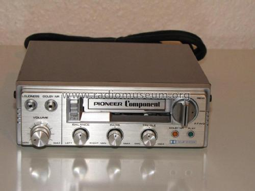 Piastra di registrazione ed audiocassette Auto_tape_deck_kx_p88g_1044510