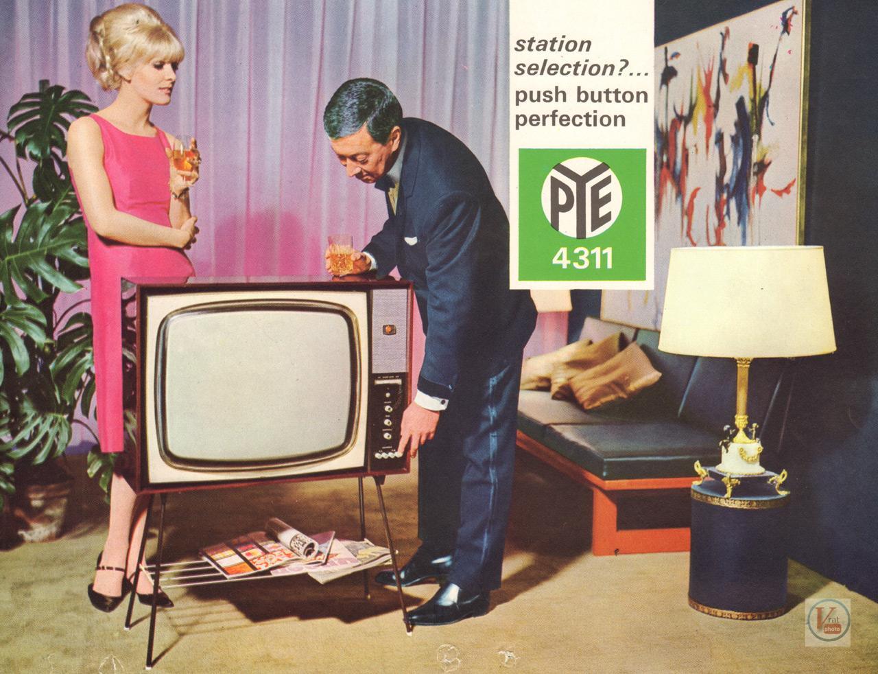 """Una TV """"Vintage"""" Pye4311-1"""