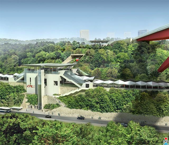 """Création nouvelle gare ferroviaire """"Pont Rouge"""" et création d'un funiculaire  Gare-pont-rouge5"""