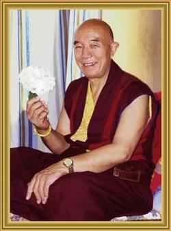 Venue du Vénérable Tenga Rinpoché à Vajradhara Ling Tenga