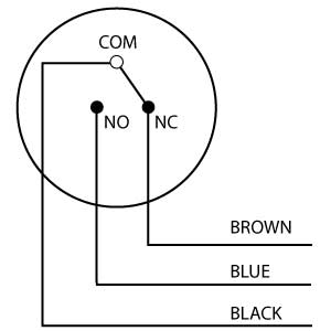 طريقة ربط العوامة الكهربائية Float-switch-schematic