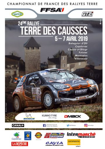 Nacionales de Rallyes Europeos(y no europeos) 2019: Información y novedades - Página 6 Affiche-tercau19-360x509