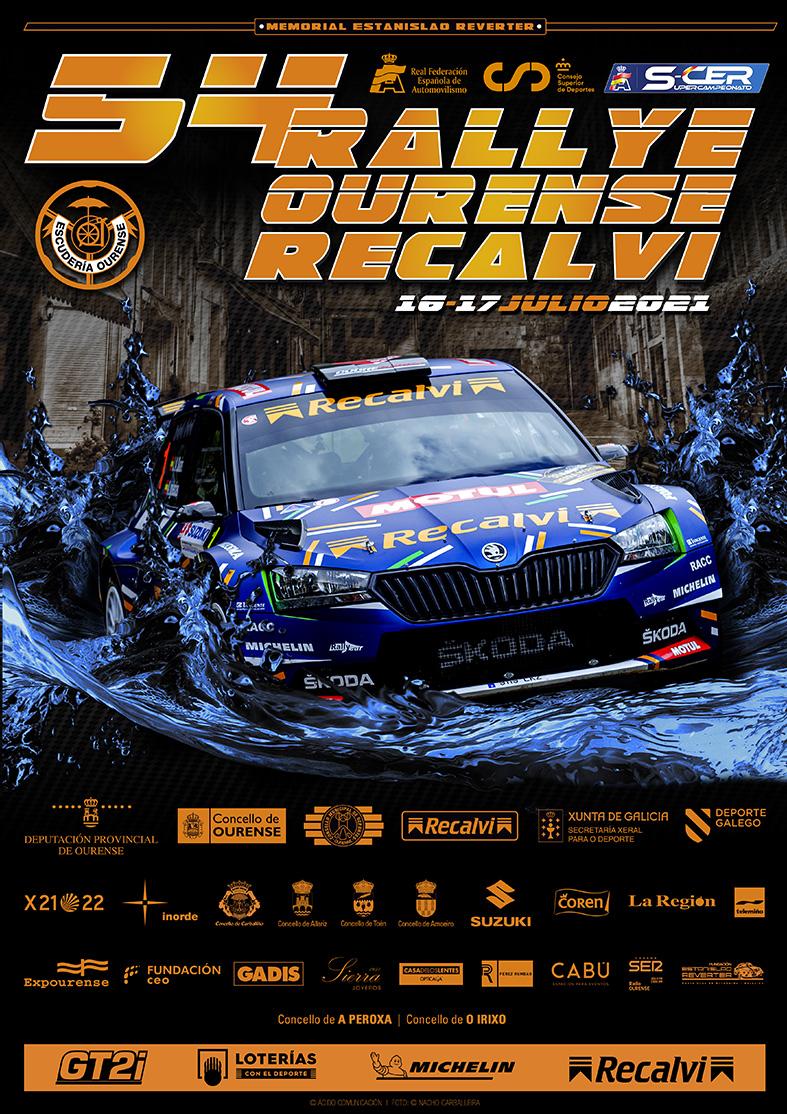 SCER: 54º Rally Ourense - Recalvi [16-17 Julio] Cartel_54ROU_OK