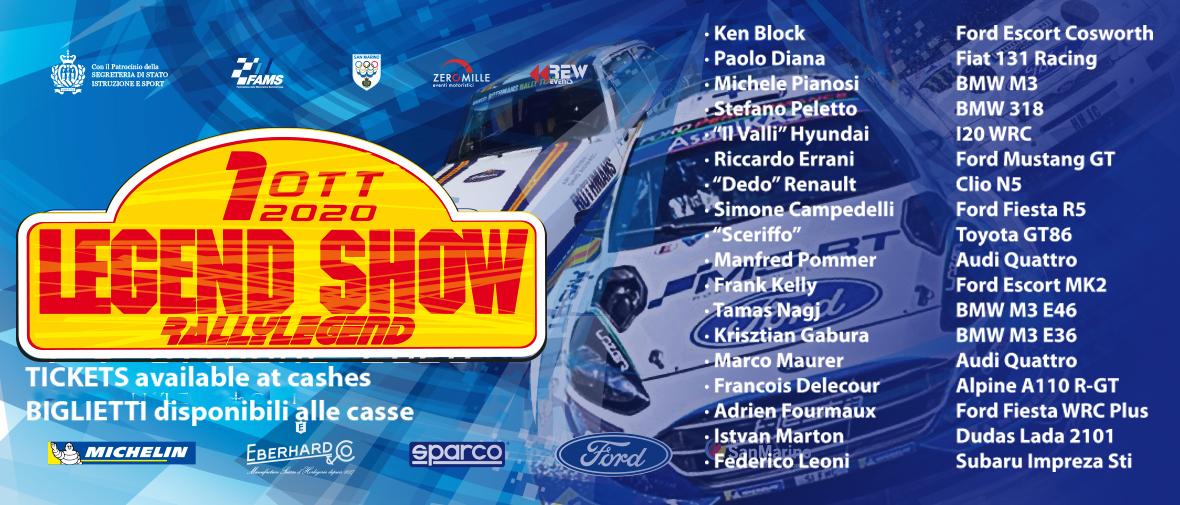 18º RallyLegend Repubblica di San Marino [1-4 Octubre] SocialHOMEshow