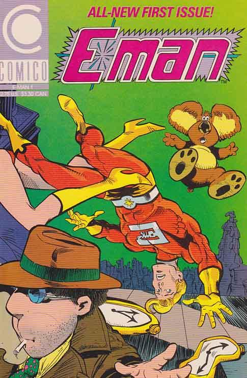 Favourite Non-Marvel or DC American Comics Character E-Man%201