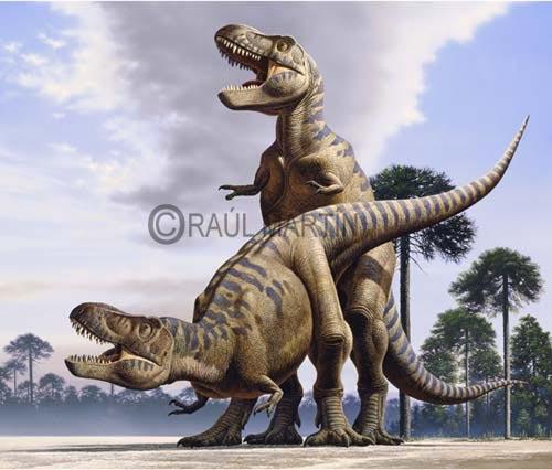Tiranosaur Tyrannosaurus