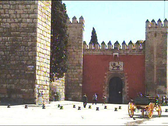 مدخل لقصر من قصور المعتمد ابن عباد Seville2
