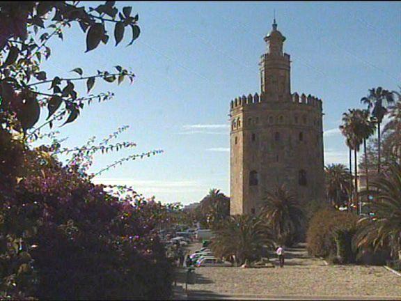 مدخل لقصر من قصور المعتمد ابن عباد Seville3