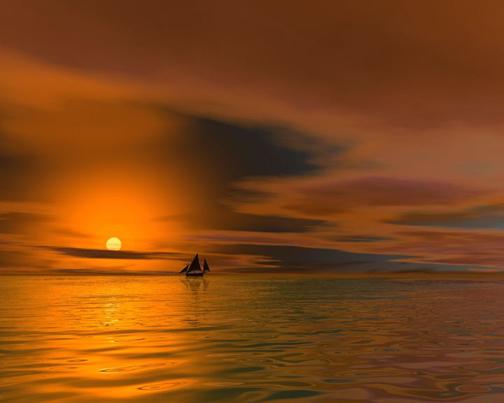 صور غروب الشمس (الكل يدخل روعه) SunsetSky2