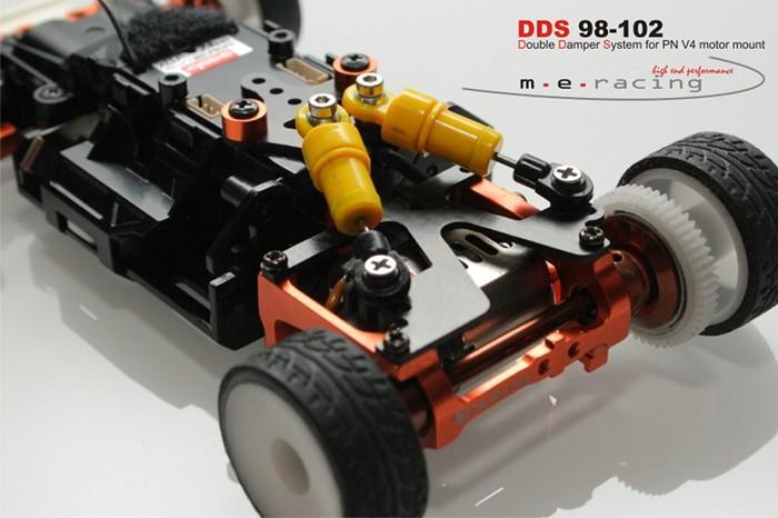 Suspension arrière M.E. Racing pour Pod Pn-racing V4 DDS%2098-102