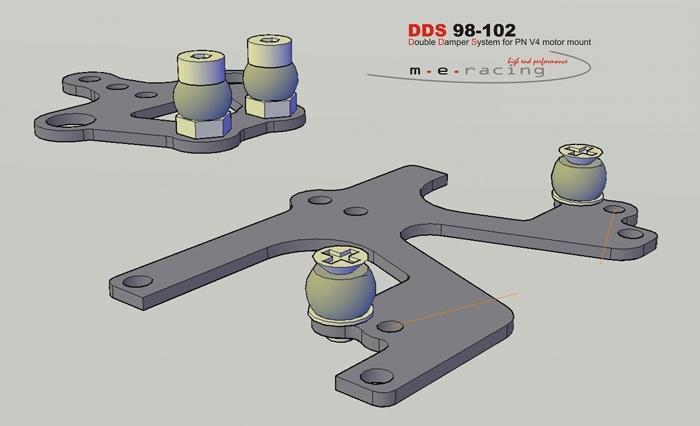 Suspension arrière M.E. Racing pour Pod Pn-racing V4 DDS%2098-102manual
