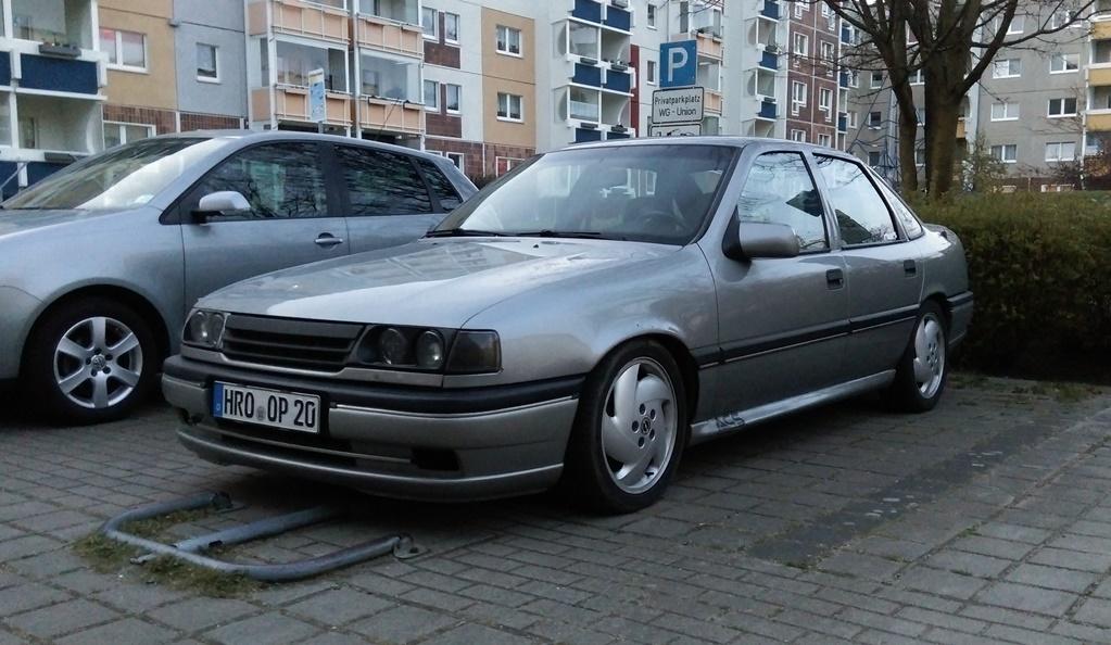 Vectra A - Winterauto ist da  IMAG00352