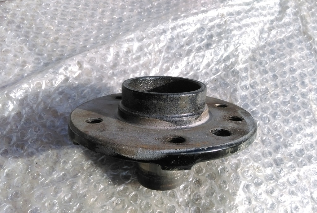 Umbaubericht: Audi RS3/TTRS Bremsanlage am Astra f / Calibra / Vectra A IMAG01344
