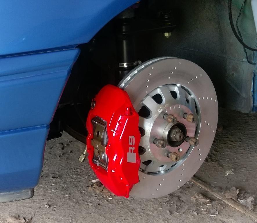 Umbaubericht: Audi RS3/TTRS Bremsanlage am Astra f / Calibra / Vectra A IMAG0352(2)