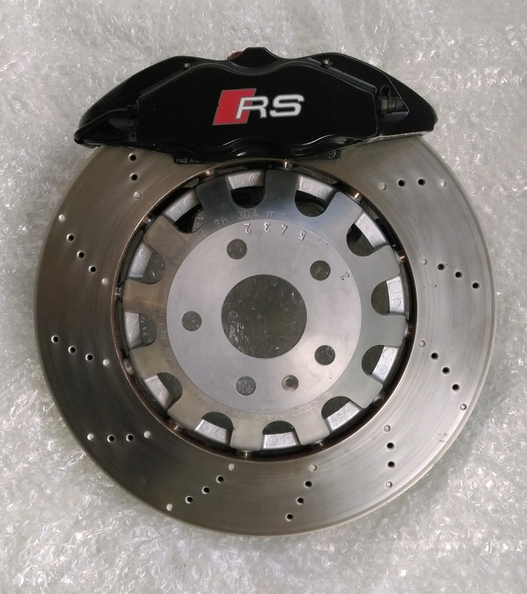 Umbaubericht: Audi RS3/TTRS Bremsanlage am Astra f / Calibra / Vectra A IMAG12870