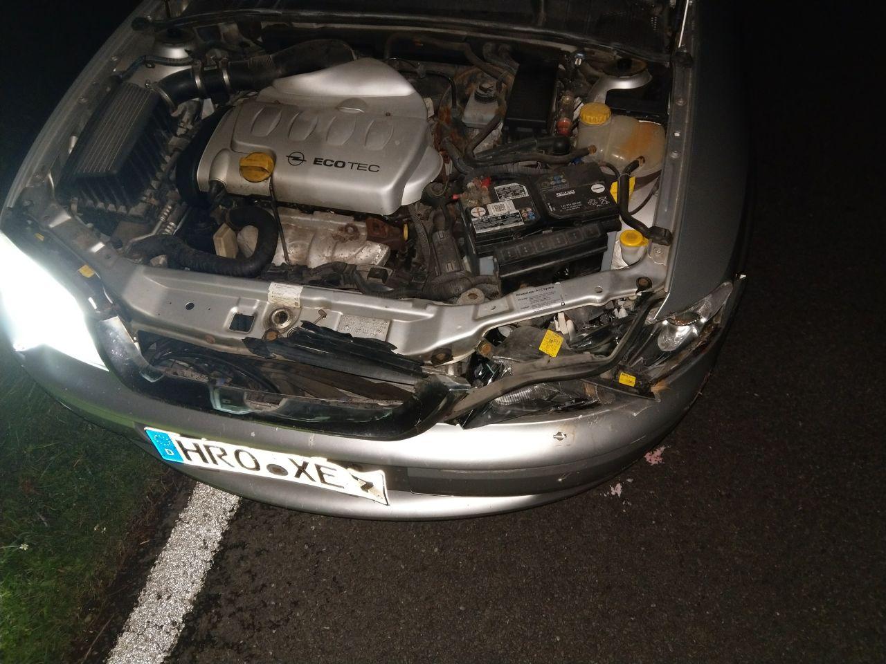 Vectra B Alltagsauto Unfall1