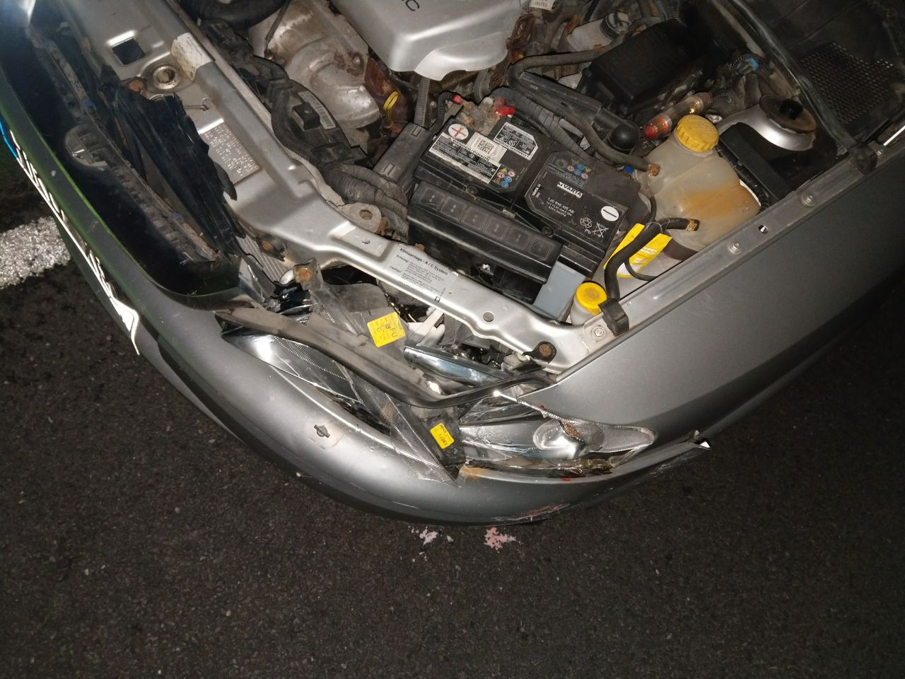Vectra B Alltagsauto Unfall2