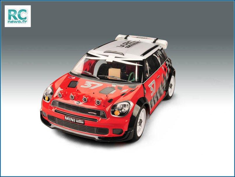 Les châssis GT8. Mini-Rally-1