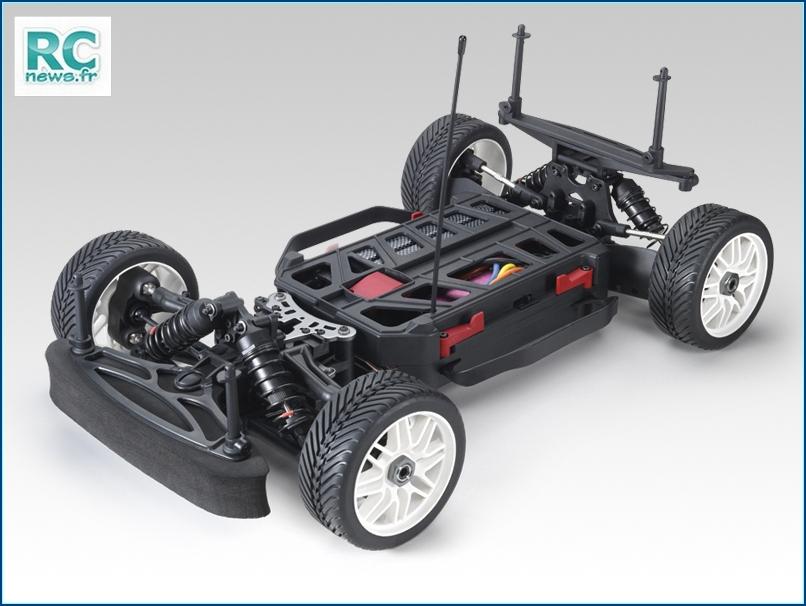 Les châssis GT8. Mini-Rally-4