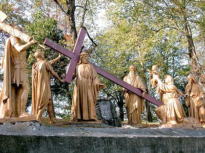 CHEMIN DE CROIX - Retour chemins de Croix/avec Jean-Paul II Lourdes_stations_08