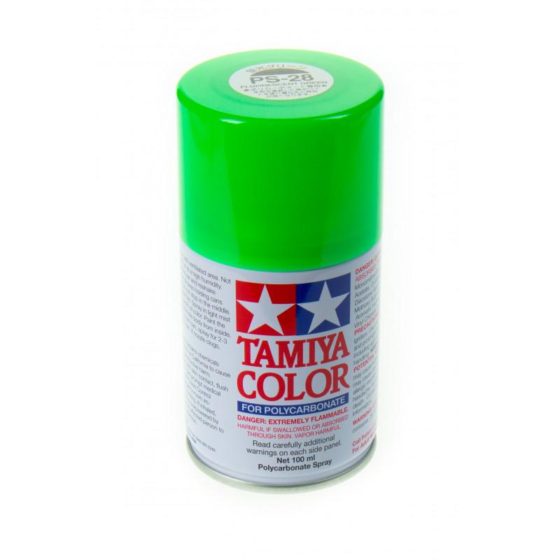 Préparation et Peinture de Carrosserie Lexan : petit tuto  Tamiya-peinture-lexan-vert-fluo-ps-28-86028