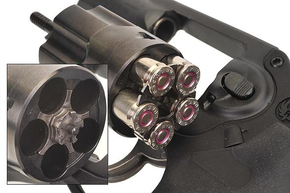 Revolver en 9mm Ejectingmoonclip5