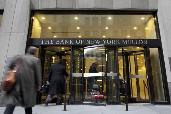 Bank és környéke The-Bank-of-New-York-Mellon