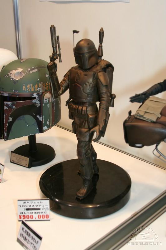 Boba Fett Bronze Statue IMG_9726