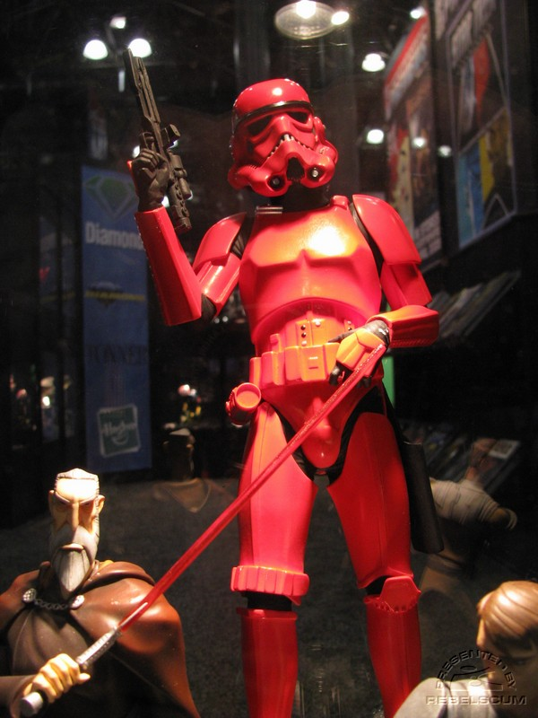 Red Stormtrooper Statue IMG_1170