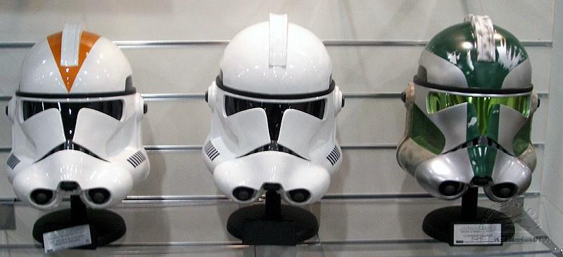 Les casques de Clone troopers Master Replicas 000_0243