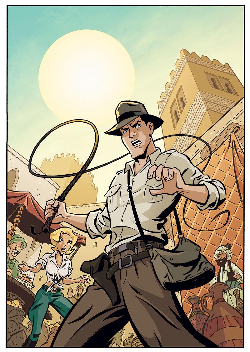 Indiana Jones Adventures Comic Art IJAdventures1