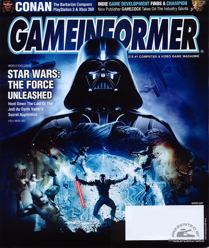 Star Wars : Force Unleashed [Xbox360 & PS3] GameInformer_167_2007-03