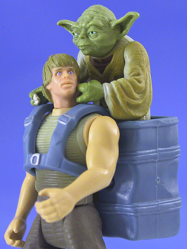 Ladder in back pack. UPDATE: Turns out to be Action Force Item Potf2lukedagobahyoda3